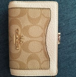 Coach medium sized wallet